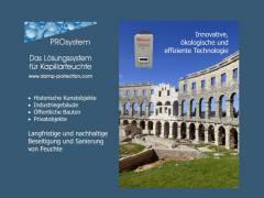 PROsystem Damp-Protection - Das Lösungssystem für Kapillarfeuchte