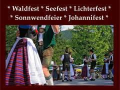 Waldfest - Seefest - Lichterfest - Volksfest
