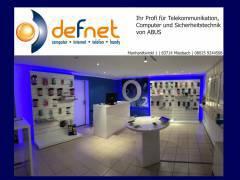 Defnet - Computer - Netzwerk - Handy - Sicherheitstechnik