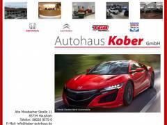 Honda Autohaus Kober - Exklusivhändler und Citroen Vertragspartner